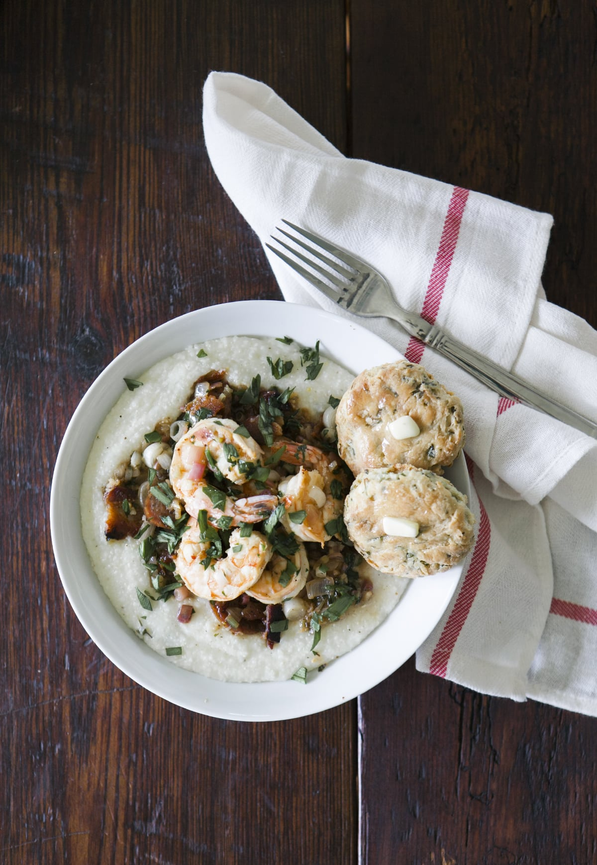 Shrimp & Grits | Ramp Biscuits | Southern Cooking | Jessica Brigham Blog | Magazine Ready for Life