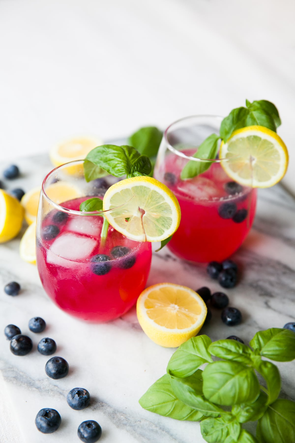Lip Smacking Gin Cocktails Blueberry Lemonade